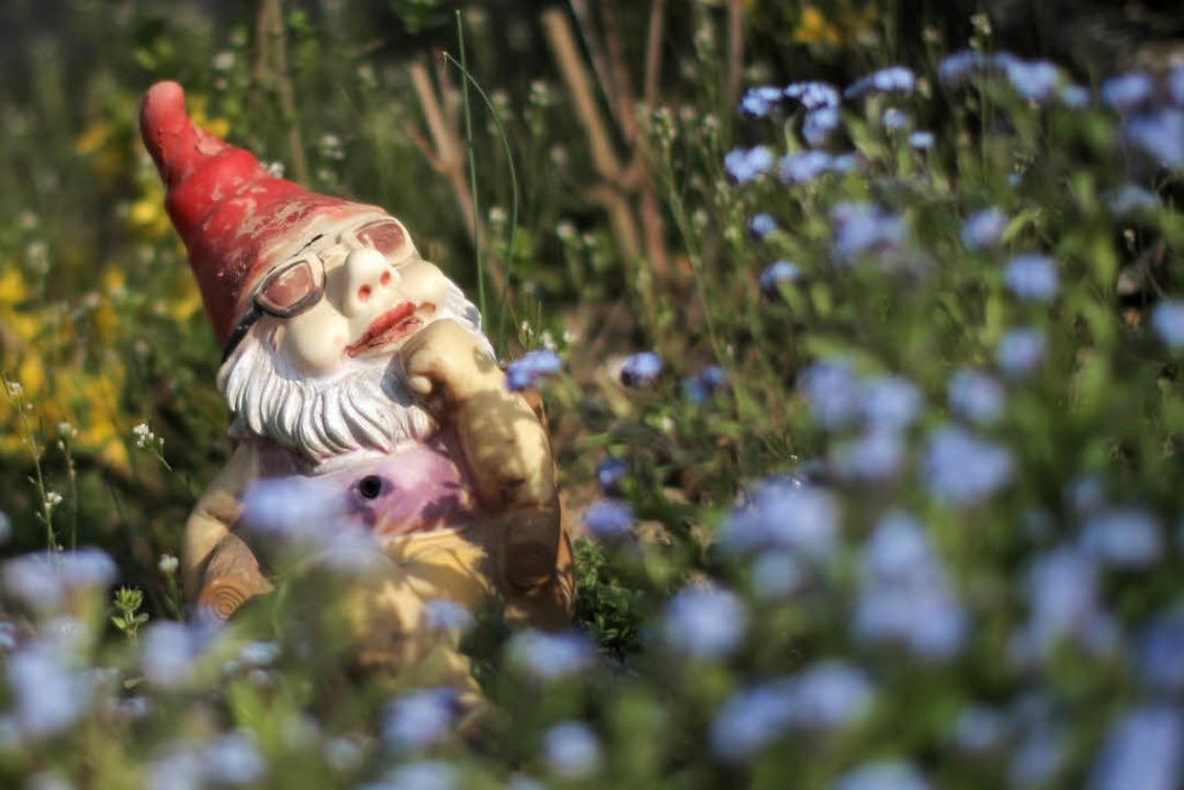 Die Frau hat wohl unerlaubt in dem Garten übernachtet und ein Lagerfeuer gelegt.    Foto: dpa