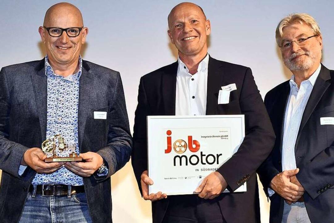 Preisverleihung Jobmotor 2017: Johanne...er, Herausgeber der Badischen Zeitung   | Foto: Thomas Kunz