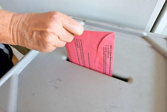Briefwähler ohne Post dürfen am Sonntag in Freiburg nicht einfach wählen