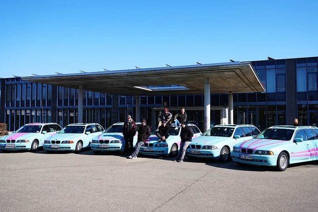 Mit sechs Autos und zwölf Leuten von Straßburg nach Jordanien
