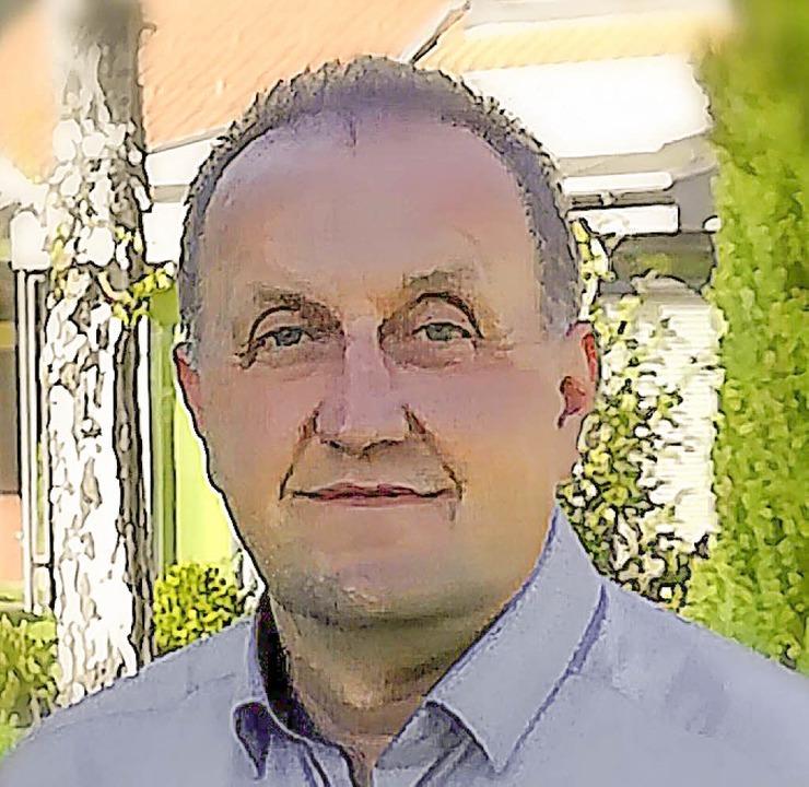 Peter Schmidt will Bürgermeister in Weilheim werden.   | Foto: Bingold