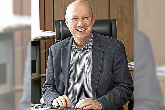 Bürgermeister Thomas Schäuble kandiert zum dritten Mal