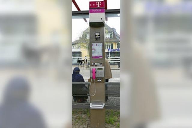Immer weniger öffentliche Telefonapparate in Weil