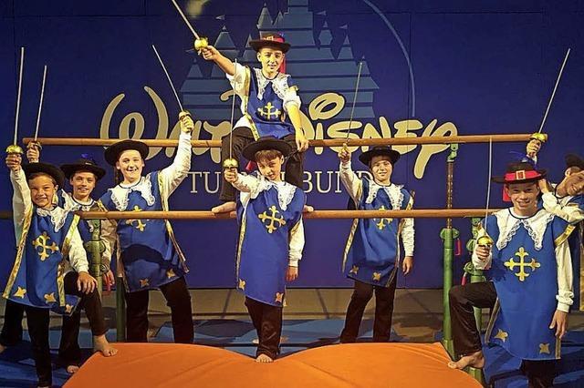 Walt Disney zu Gast bei den Turnern