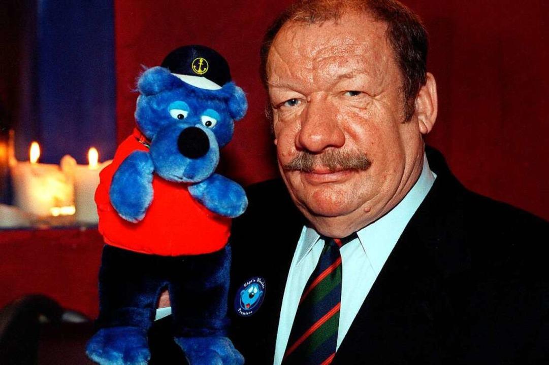 Wolfgang Völz schenkte unter anderem d...äpt'n Blaubär seine Stimmbänder.  | Foto: dpa