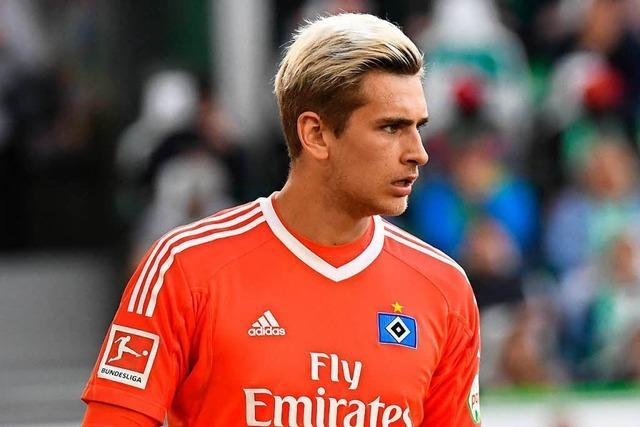 Julian Pollersbeck steht für die Wiederbelebung des Hamburger SV