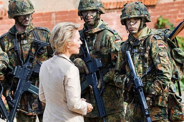 Bei der neuen Reform der Bundeswehr sollte man erst über Aufgaben reden, dann übers Geld