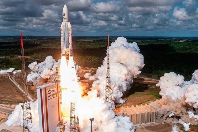 Raketentests in Baden-Württemberg – mit der Ariane 6 will Europa das All erobern