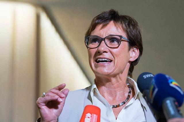 Im Visier der Grünen: Landtags-Vizepräsidentin Kurtz im Interview