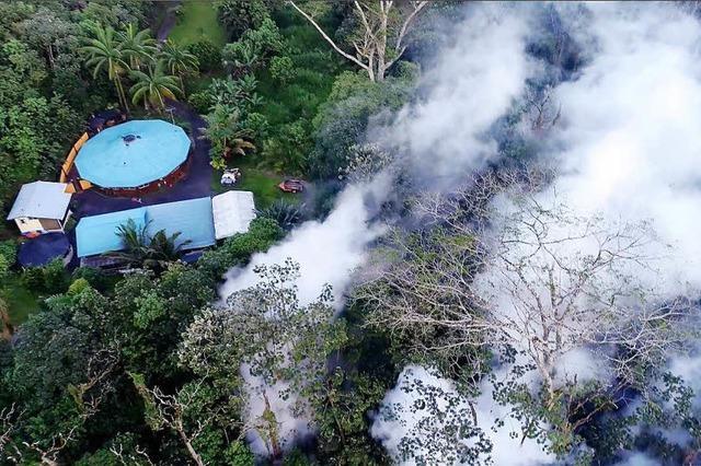 Starkes Beben folgt auf Vulkanausbruch – Hawaiianer in Angst