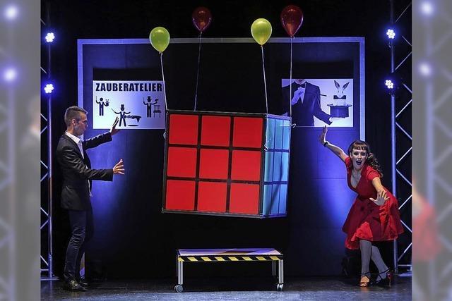 Zaubershow im Roten Haus