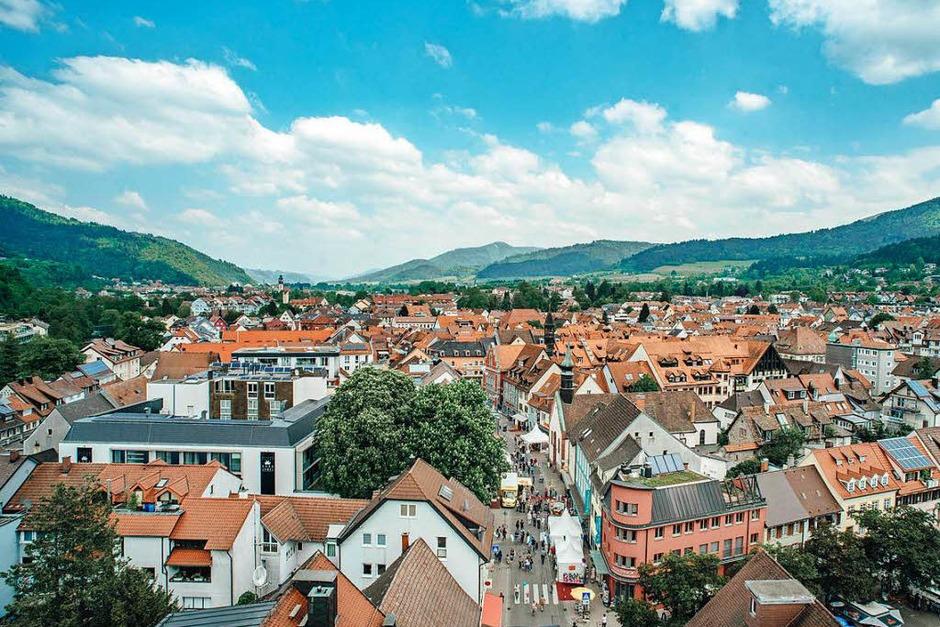 So war der Samstag der Heimattage in Waldkirch. (Foto: Fabio Smitka)