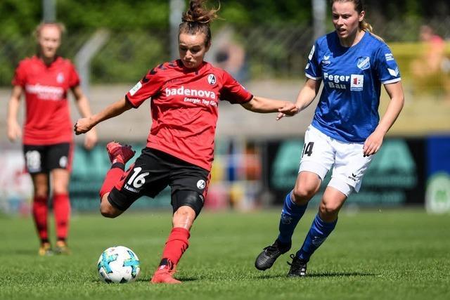 SC-Fußballerinnen besiegen Sand im Südbaden-Derby souverän