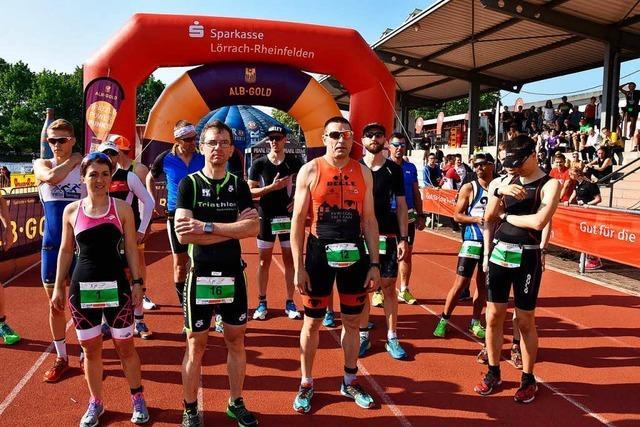 Triathleten machen Rheinfelden zum Sportplatz