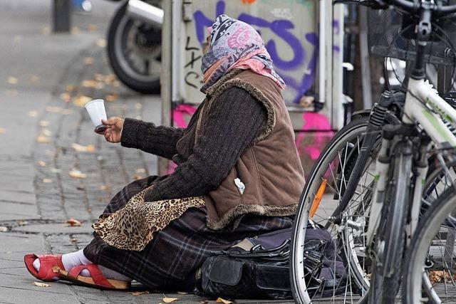 Bürger beschweren sich über Bettler