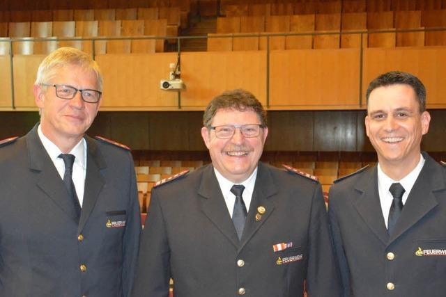 Klaus Gempp ist jetzt Ehrenkommandant der Feuerwehr Weil am Rhein