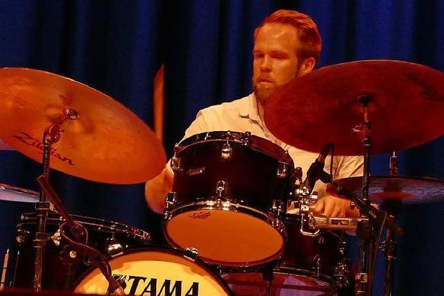 Eberhard Weber, Emil Brandqvist und Enrico Rava beim Forum Jazz Festival in Merzhausen