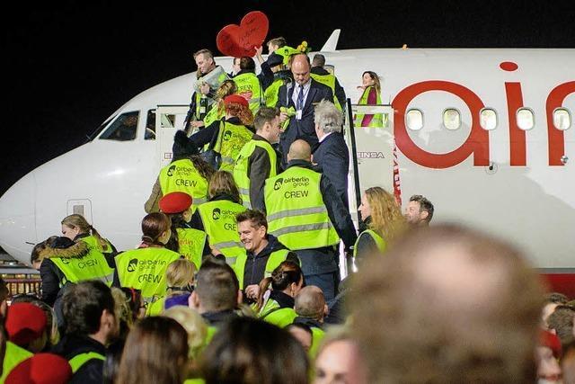 Gute Aussichten für Air-Berlin-Mitarbeiter