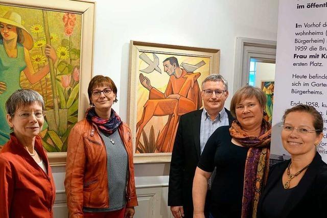 Eine Ausstellung zeigt, wie die Kunst nach Rheinfelden kam