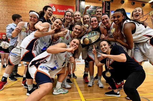 Sieg im Showdown – Freiburgs Basketballerinnen wieder erstklassig