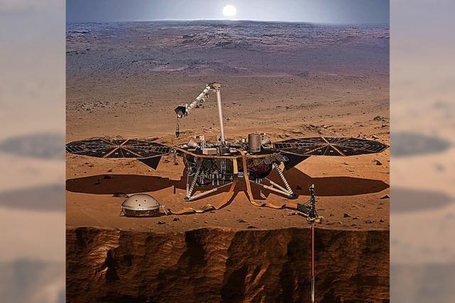 Sonde soll auf Mars hämmern