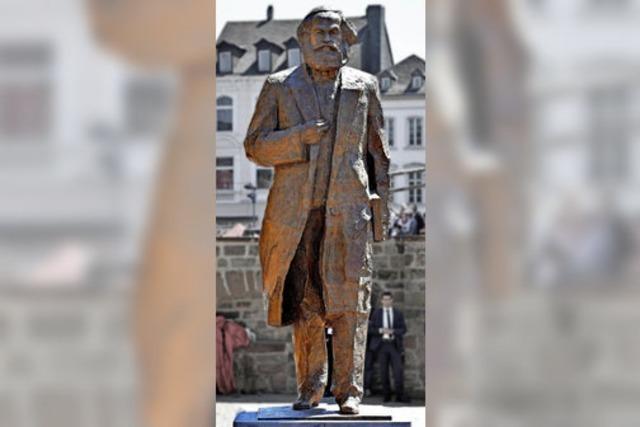 Marx-Statue in Trier enthüllt