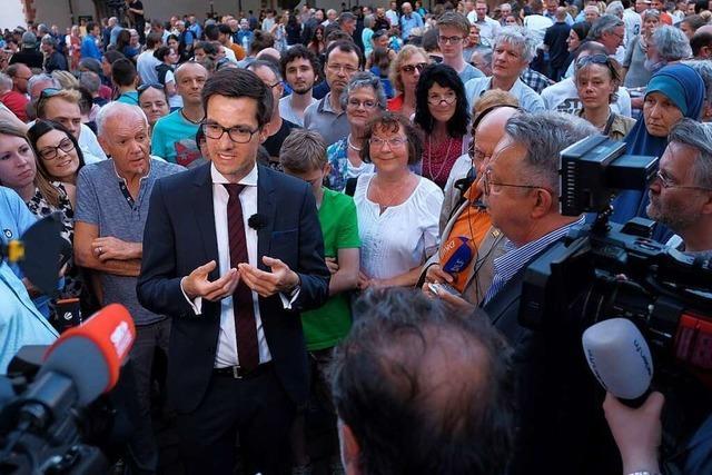 Am Wahlabend lagen Sieg und Schock für Martin Horn nah beieinander