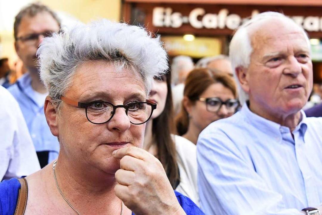 Petra Zimmermann, Ortsvorsteherin von ...onsvorsitzende der CDU im Gemeinderat.  | Foto: Michael Bamberger