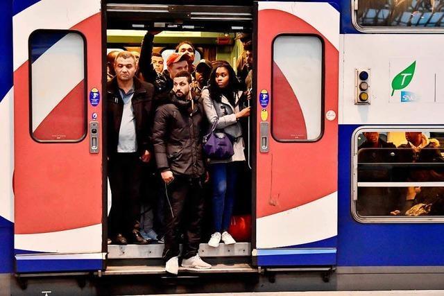 Streik in Frankreich - weitere Ausfälle im Bahnverkehr über die Grenze