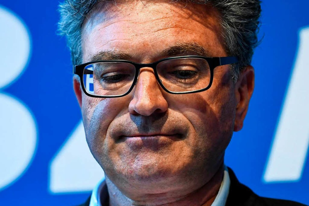 Abgewählt: Über seine Wahlniederlage war Dieter Salomon sichtlich enttäuscht.    Foto: dpa