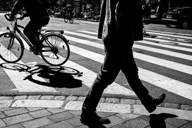 Wie sicher sind die Fußgänger in Lörrach?