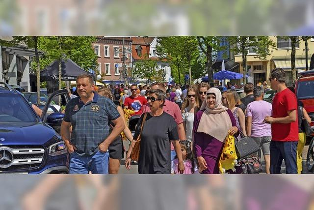 Tausende Besucher in der Innenstadt