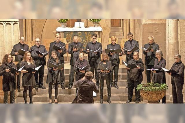 Ensemble Alto e Basso gastiert am Donnerstag, 10. Mai, in der Friedenskirche in Wehr.