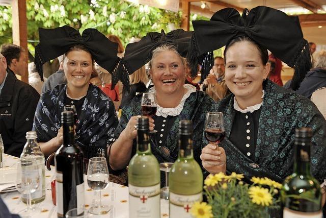 Die Weintage St. Georgen beginnen am 11. Mai 2018
