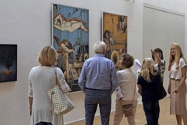 Ausstellung überzeugt mit hoher Qualität