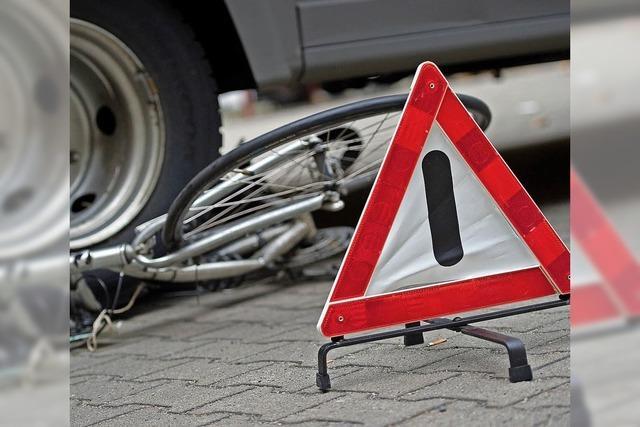 Radfahrer sind oft in Unfälle verwickelt