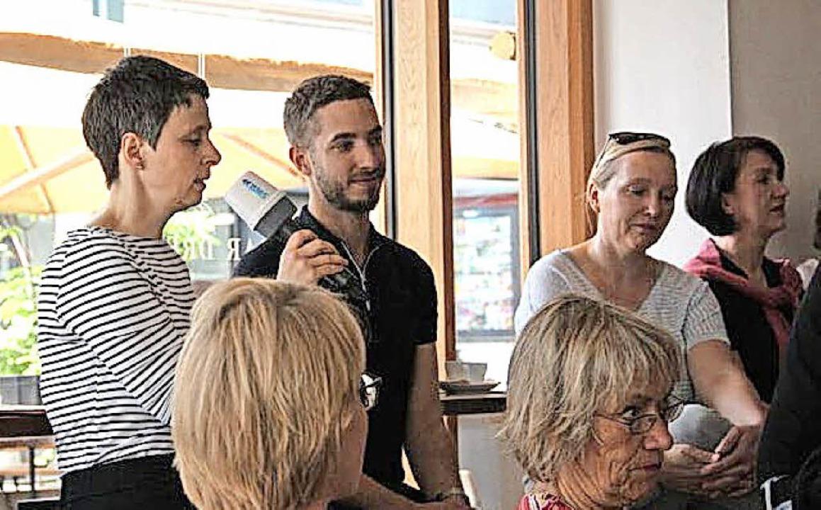 "Noam Brusilovsky stellte ""We lov...udia Gabler moderierte den Vormittag.     Foto: Daniela Gschweng"