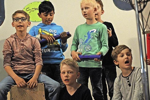 Beim Musizieren viele verborgene Talente entdeckt