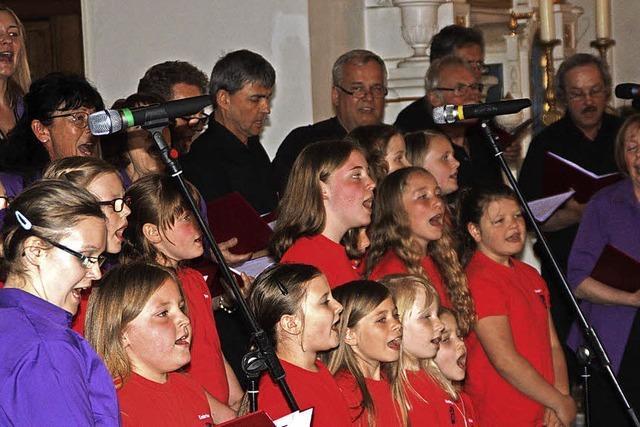 Weltliche Töne in der Kirche St. Zeno