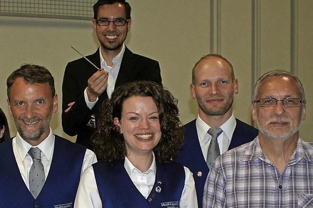 Ein Trio führt jetzt die Musikkapelle Wallburg