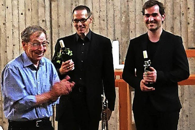 Trompete und Orgel im