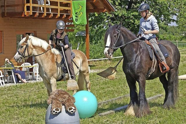 Reiternachwuchs hat Spaß an den Spielen