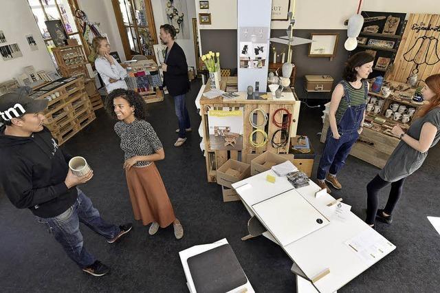 FWTM und Kulturaggregat öffnen einen Pop-Up-Store für Künstler und ihr Kreativhandwerk