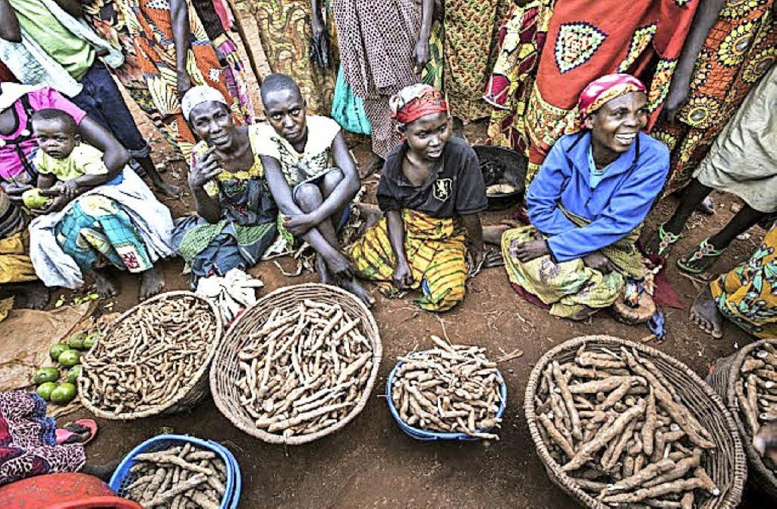 Marktszene in Burundi   | Foto: Niklas Cybulla