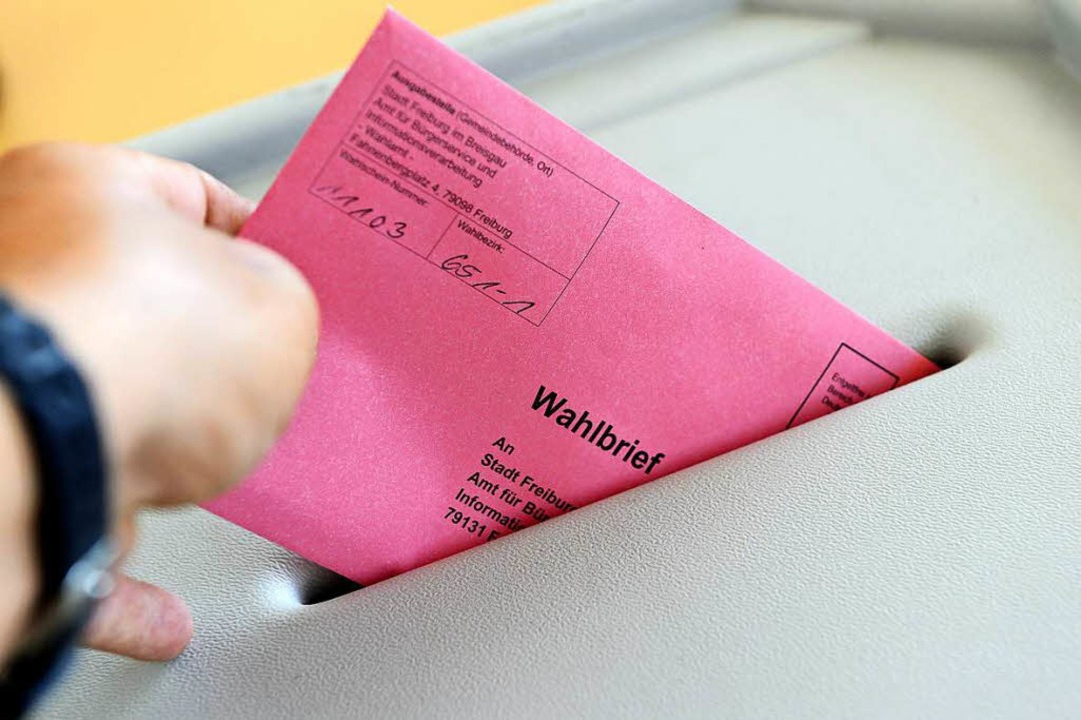 Auch im Wahlamt konnte man die Briefwahl machen  | Foto: Ingo Schneider