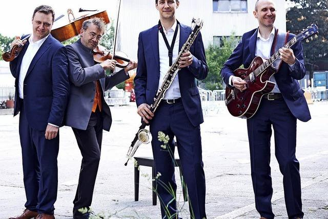 Quartett Passo Avanti spielt am Donnerstag, 10. Mai, im Festsaal des Kolleg St. Blasien