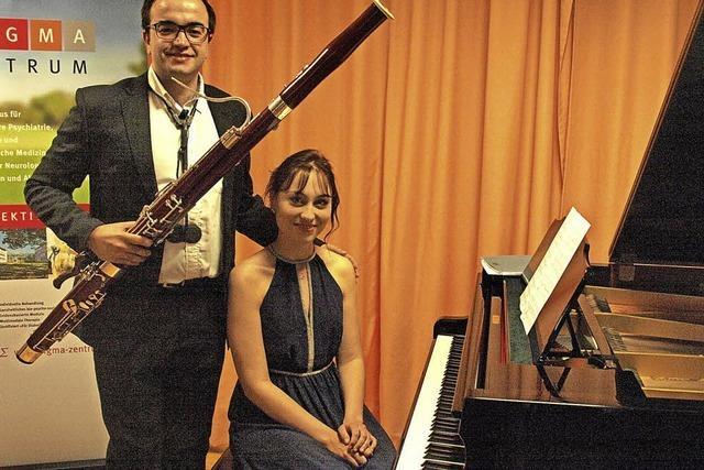 Fagott und Piano klingen gemeinsam
