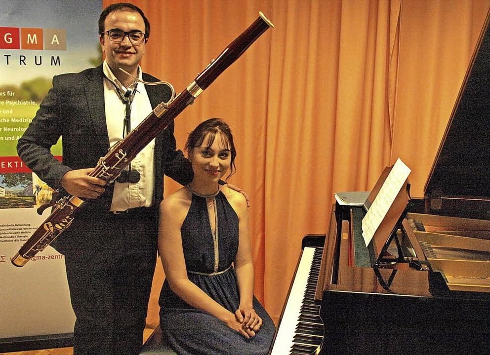 Fagottist Francisco Bautista Ortega Ar...oli und wundervoll verwobenem Duospiel  | Foto: Karin Stöckl-Steinebrunner