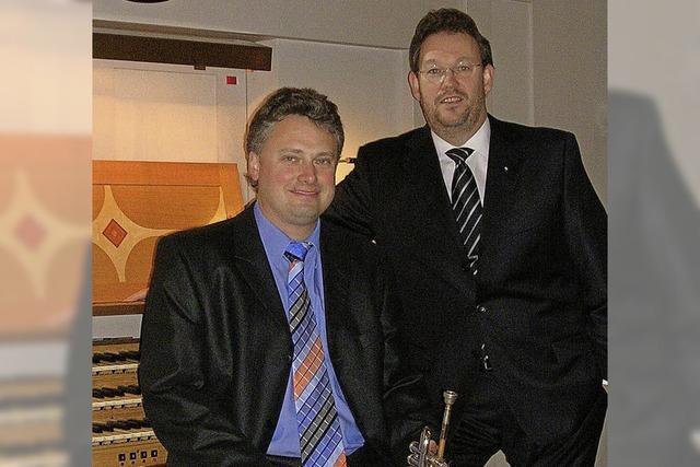 Musik für Orgel und Trompete mit Carsten Klomp und Rudolf Mahni