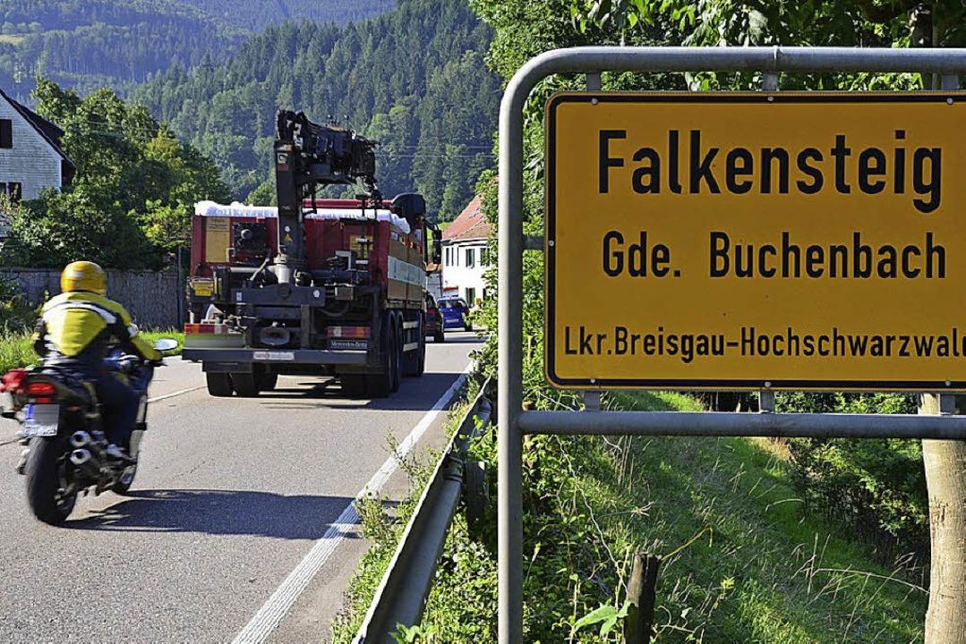 Falkensteig kämpft für einen Tunnel.  | Foto: Tanja Bury